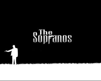DY01226 The Sopranos - James Gandolfini TV Dizisi HBO 17 mm'ye